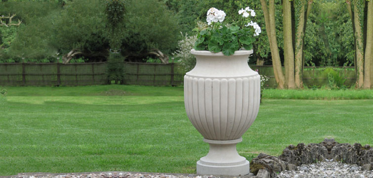 antique garden urns and planters
