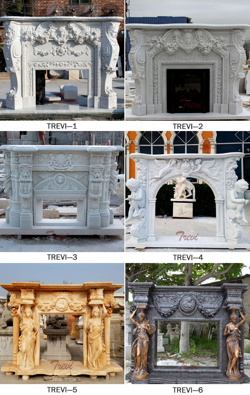 Custom fireplace mantels and surrounds ideas