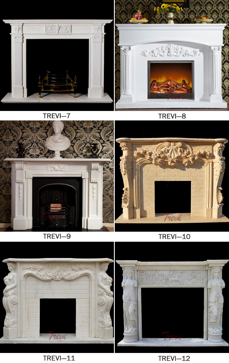 Modern fireplace mental shelf designs
