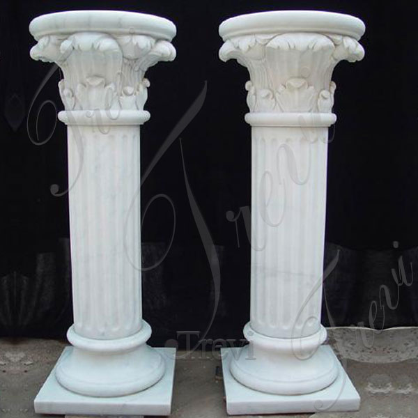 Solid marble decorative pillar and columns for wedding decor