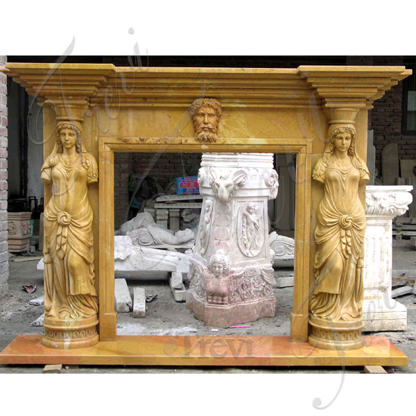 Corner fireplace mantels ornaments home depot idea TMFP-9