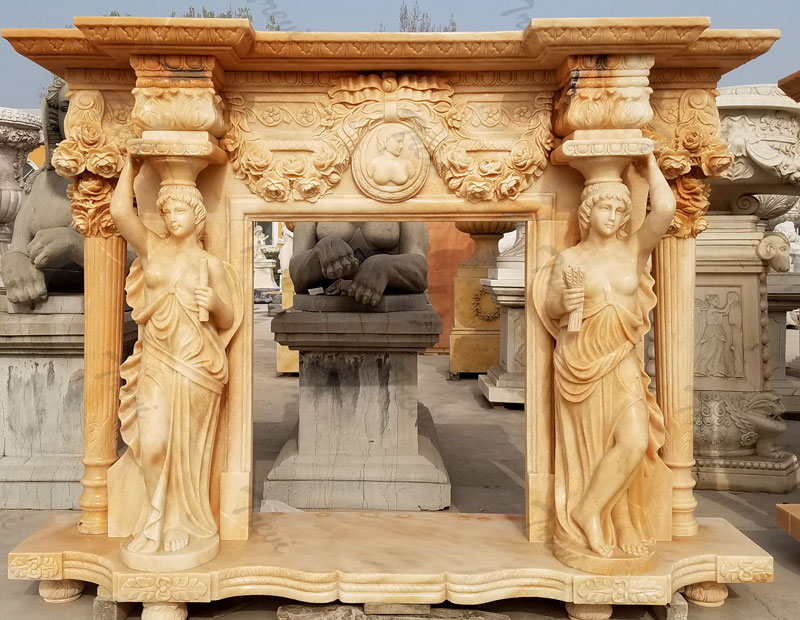 luxury craftsman style carved stone fireplace mentels surrounds design for fall decor