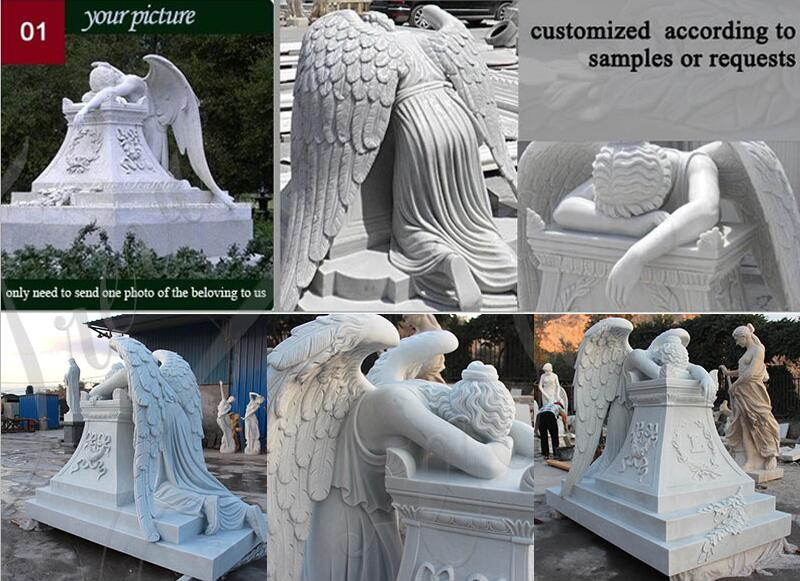 angel headstones prices for sale