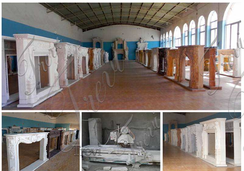 Marble Fireplace Mantels and Surrounds Factory