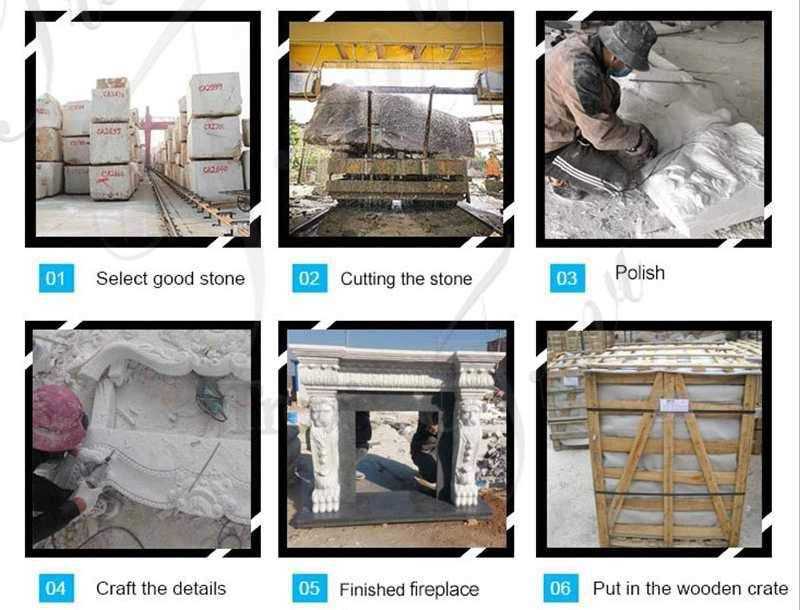 cast-marble-fireplace-for-sale