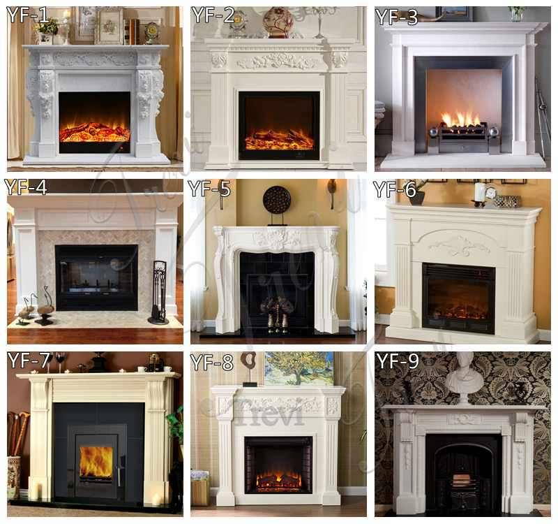 Elegant Georgian Marble Fireplace
