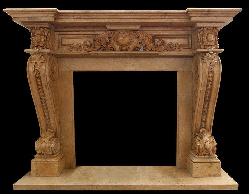 Georgian marble fireplace