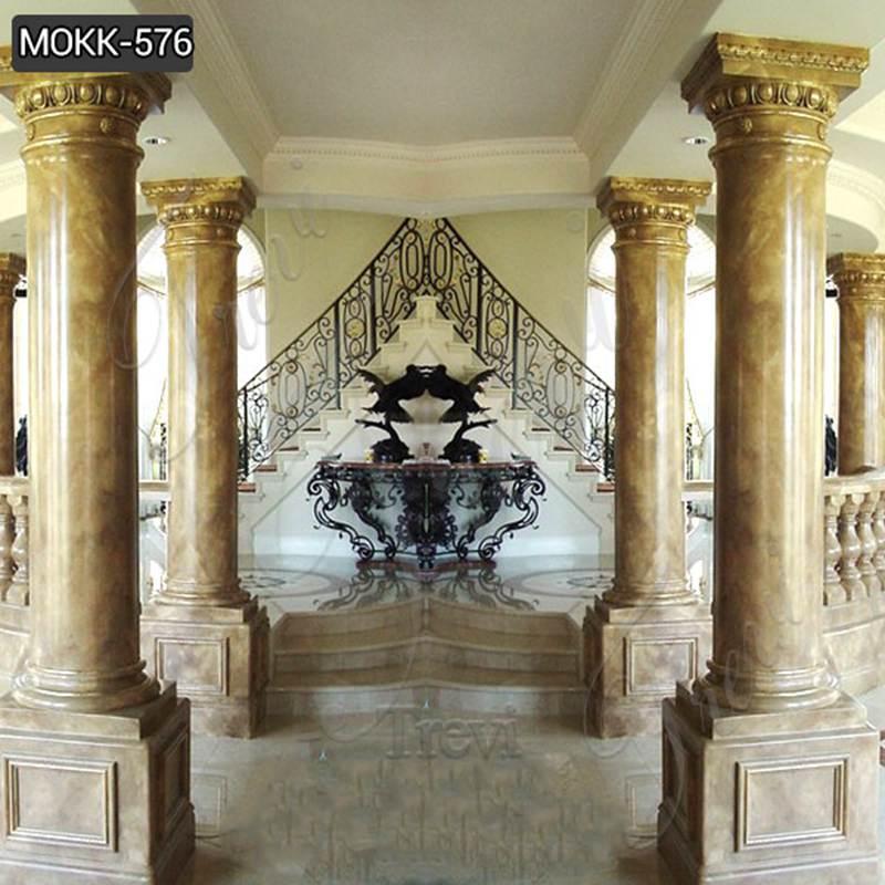 Granite solid marble column