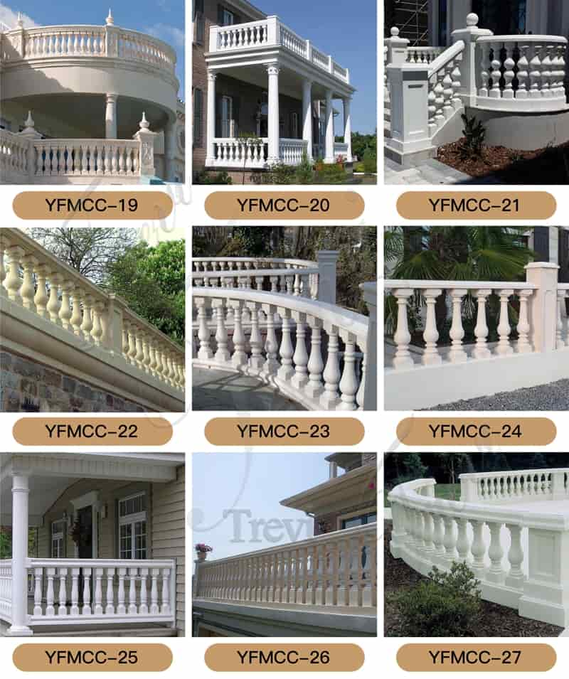 white marble column for sale