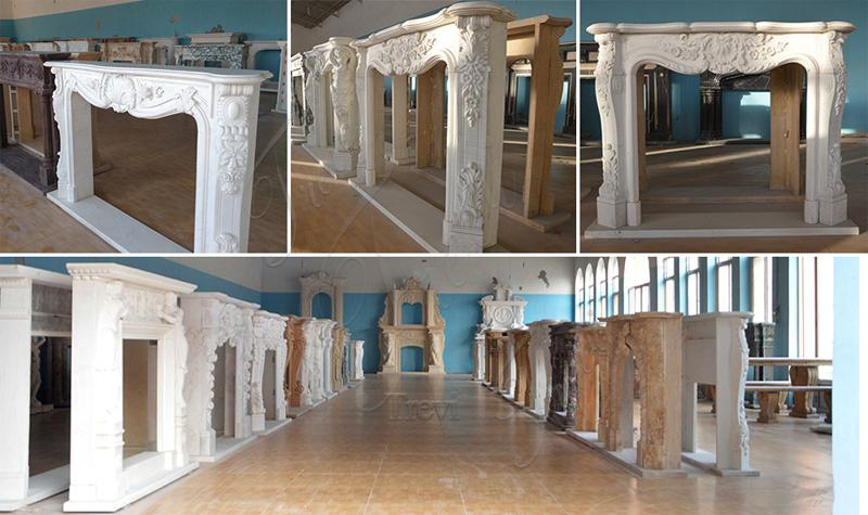 french marble fireplaces