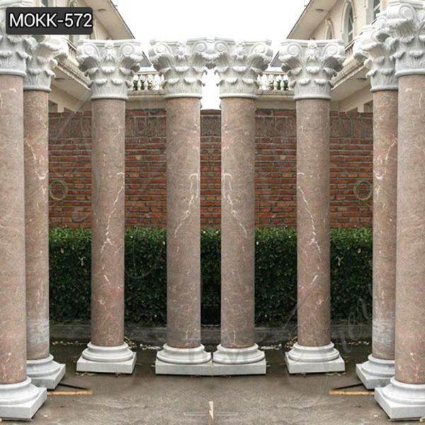 Roman Marble Columns House Decoration for Sale MOKK-572